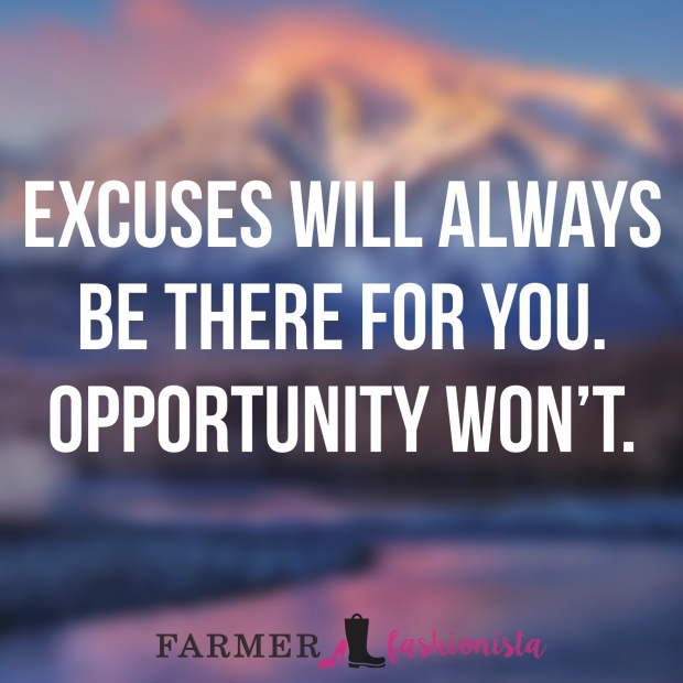 Excuses Quote 1