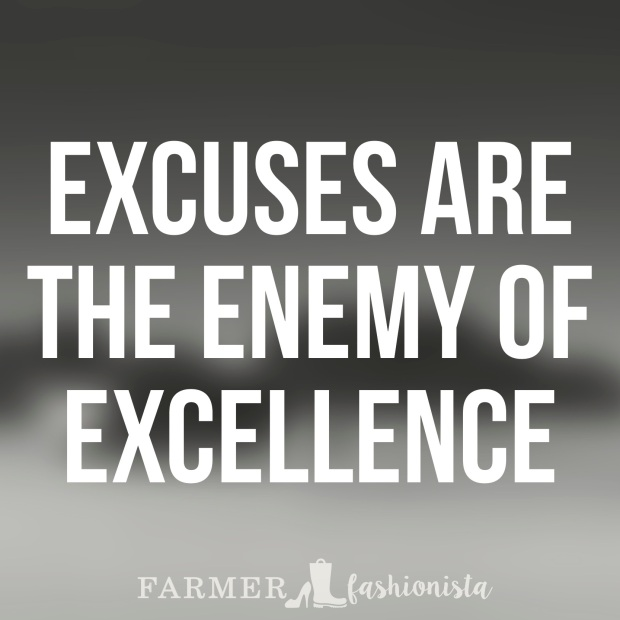 Excuses Quote 14